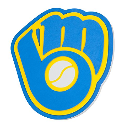 Foam Fanatics Milwaukee Brewers Foam Logo Sign
