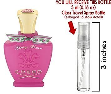 Amazon Creed Spring Flower Glass Mini Travel Spray For Women