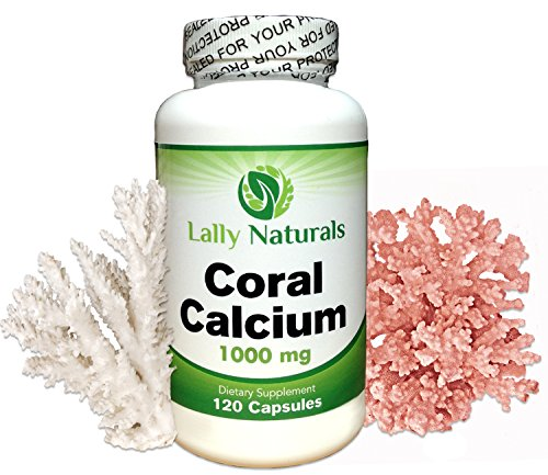 Coral Calcium Plus Vitamin D3 ★ 1000 mg ★ (120 capsules) ★ Natural Antioxidants ★ Bone Health ★ Providing naturally-occurring Ionic forms of Absorbable Calcium, Magnesium and all Trace Minerals