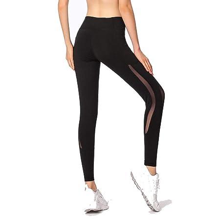 Pantalones de yoga elásticos, pantalones deportivo ...