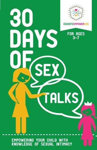 Days Sex Talks Ages 3 7