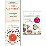 img - for End of alzheimer's, hidden healing powers of super & whole foods and healthy medic food for life 3 books collection set book / textbook / text book
