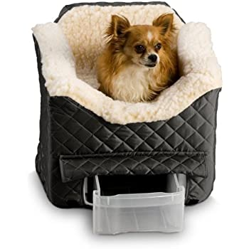 Amazon Com Pet Car Seat Lookout I Medium Black 22 Quot W