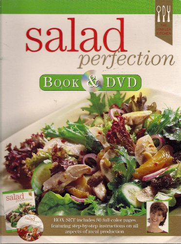 Salad Perfection Book & DVD (BOX SET includes 80 full-collor pages featuring stop-by-step instructions on all aspects of meal production)