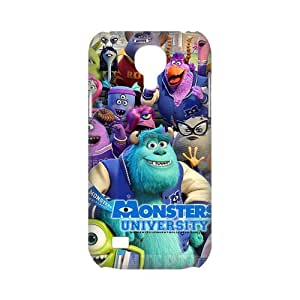 3D Printing Personalized Design of Animated Film-Monsters University by Pixar Background Fitted Hard Case Cover for SamSung Galaxy S4 mini i9192/i9198 - Cell Phone Accessories