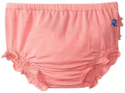 KicKee Pants Baby Girls' Solid Bloomer Prd-kpb708-Dr, Desert Rose, 3-6 (Solid Bloomers)