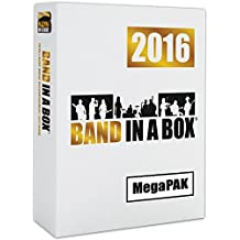 Band-in-a-Box 2016 MegaPAK [Old Version, Mac DVD-ROM]