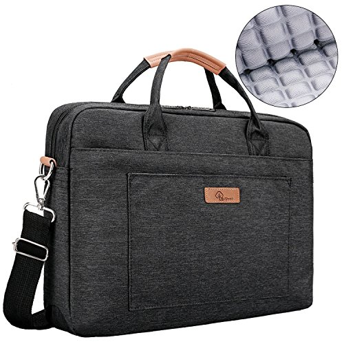 [Upgraded Shock-proof] E-Tree 15.6 inch Laptop Sleeve Handbag for 15 to 15.6 Macbook/Notebook | Ultra Light-weight Oxford Laptop Shoulder Bag