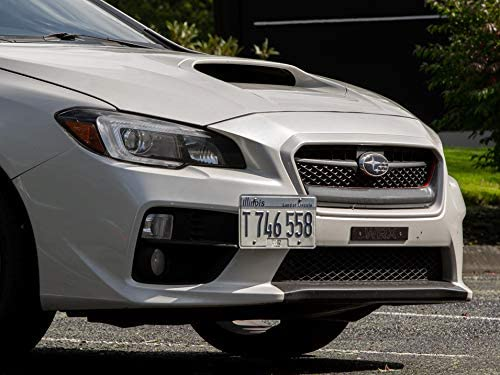 2015-2020 No Drilling Installs in Seconds Made in USA CravenSpeed Platypus License Plate Mount for Subaru WRX//STI