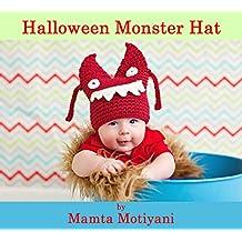 Halloween Monster | Crochet Hat Pattern: Easy Beanie For Newborn Babies Infants & Children
