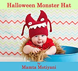 Halloween Monster Crochet Hat Pattern Easy Beanie For Newborn