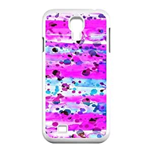 Samsung Galaxy S4 Case, Abstract Watercolor Hard Case For Samsung Galaxy S4(White) Yearinspace059366