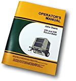 John Deere 430 530 Round Baler Owners Operators Manual Service Troubleshooting