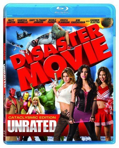 Blu-ray : Disaster Movie (Unrated Version, , Dolby, AC-3, Digital Theater System)