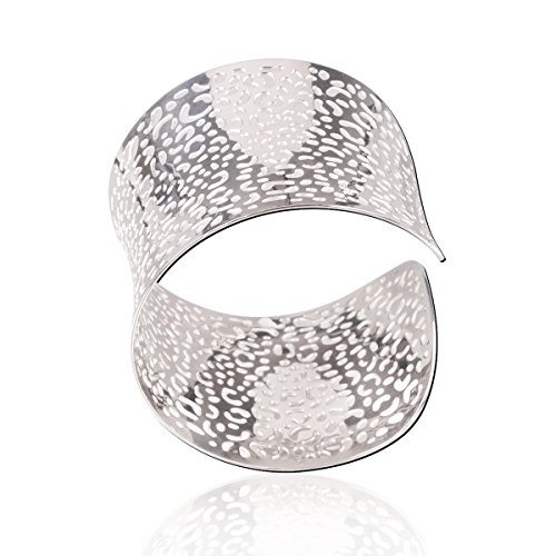 Women Fashion Accessories Stainless Steel Infinity Bangle Bracelet - 6