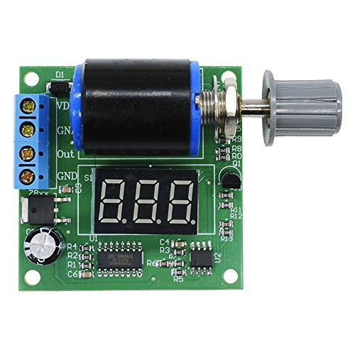 Aideepen 4-20mA Signal Generator DC 12V 24V Adjustable Current Frequency Module DIY Board with LED Digital Display