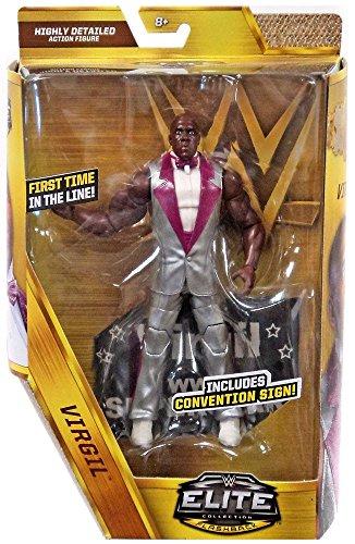WWE Wrestling Elite Flashback Virgil Action Figure [Convention Sign!] by Wrestling