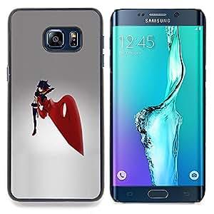 Ihec Tech Espada Roja Chica;;;;;;;; / Funda Case back Cover guard / for Samsung Galaxy S6 Edge Plus / S6 Edge+ G928