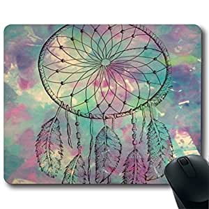 Dream Catcher The dreamer Customized Rectangle Non-Slip Rubber Mousepad Gaming Mouse Pad
