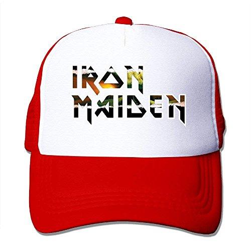 Gorras Cap Maiden béisbol Mesh Iron rongxincailiaoke Hat dOc46q7wn