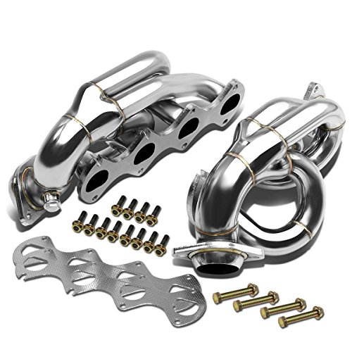 For Ford Mustang 4-1 Design 2-PC Stainless Steel Exhaust Header Kit - 4.6L V8