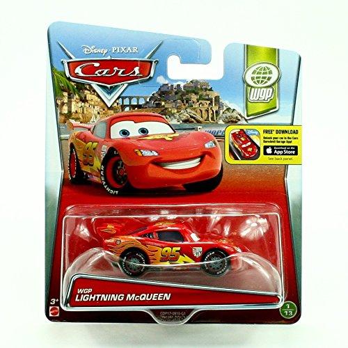 Disney Nemo Car (WGP LIGHTNING MCQUEEN #1/13 * WORLD GRAND PRIX * 2015 Disney / Pixar CARS 1:55 Scale Vehicle)