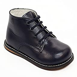 JOSMO Infant Oxfords Shoes - 8190, Navy, 8 W US Toddler