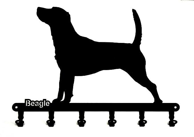 Labrador Schl/üsselboard 6 Haken,Metall Retriever steelprint.de Schl/üsselbrett//Hakenleiste