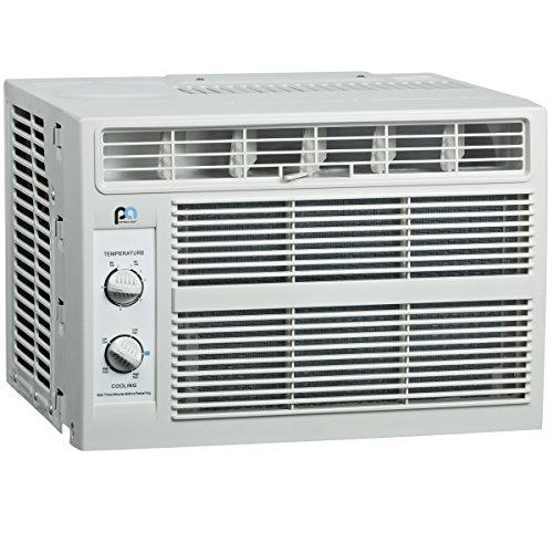 Perfect Aire 3PNC5000 5,000 BTU Window Air Conditioner, EER 11.1, 446-Watts, 100-150 Sq. Ft. Coverage