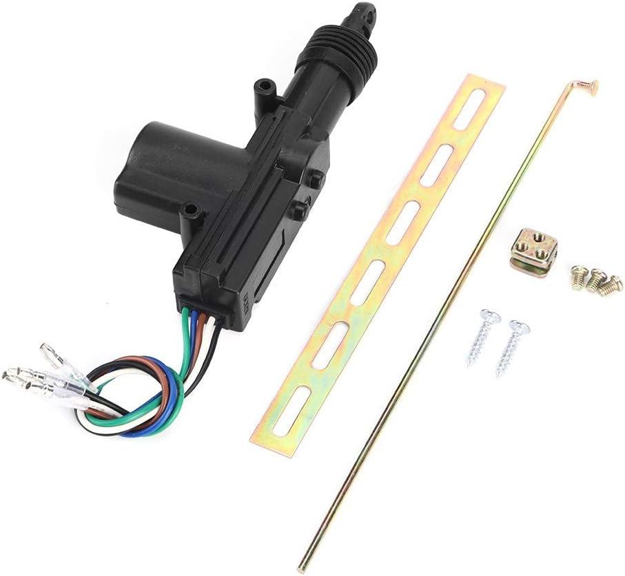 Motor del actuador de la puerta, Motor del actuador del solenoide maestro de la puerta de 5 cables Pop por piezas universales de bloqueo automático central