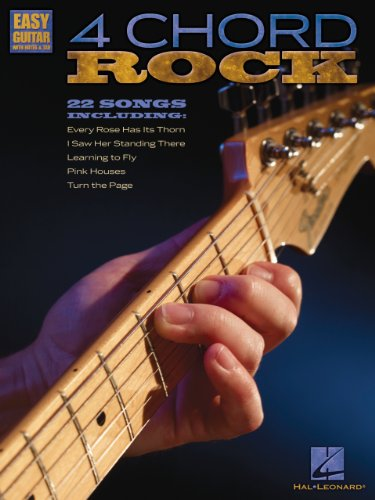 Amazon.com: 4 Chord Rock Songbook: Easy Guitar with Notes & Tab ...