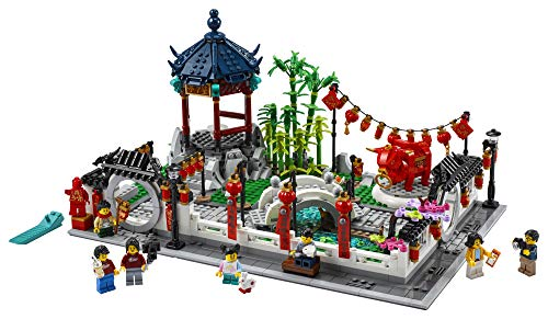 LEGO Spring Lantern Festival 80107 Building Kit; Collectible Lunar New Year Gift Toy for Kids, New 2021 (1,793 Pieces)