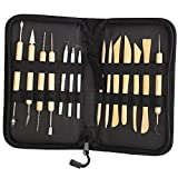 Vivona 14 Pcs Clay Sculpting Wax Carving Pottery Tools Polymer Ceramic Modeling Kit