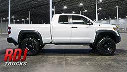 RDJ Trucks PRO-OFFROAD Bolt-On Style Fender Flares - Toyota Tundra 2014-2017 - Paintable OE Black Finish