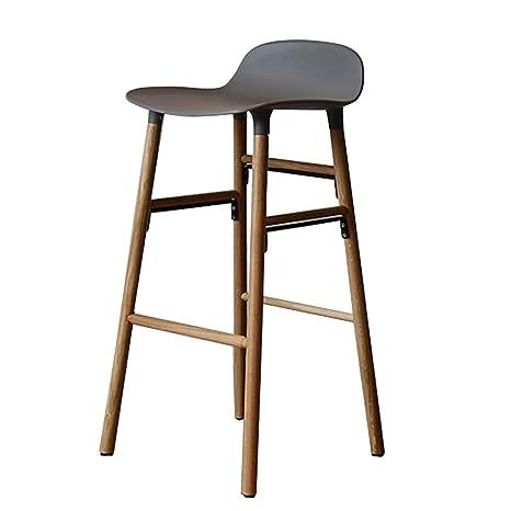 Incredible Amazon Com Bar Stool High Stool Dining Chair Wood Barstools Machost Co Dining Chair Design Ideas Machostcouk