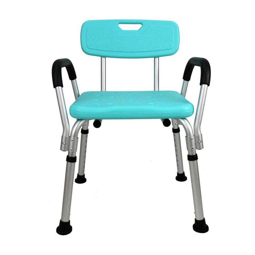 Amazon.com: TSAR003 Aluminum Alloy Bathroom Shower Chair, With ...