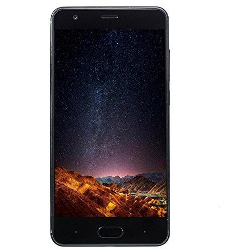DOOGEE X20 - smartphone 3G Android da 5 pollici 3G, fotocamere triple (2MP + 2MP + 5MP), quad-core da 1.3GHz 2GB RAM 16GB ROM Doppia SIM - Nero