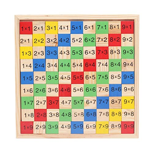 | Math Toys | 1 piece Jingle Wood Multiplication Operation Wooden Operation Good Enlightenment Toys A On The Ground For Sale Best Sellers by GonPi
