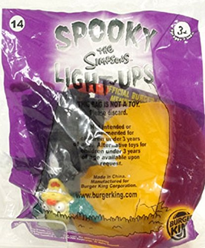 Burger King 2001 the Simpsons Spooky Light-ups #14