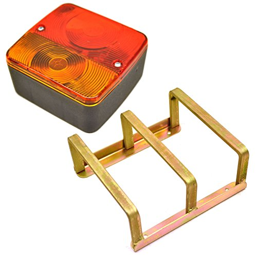 AB Tools-Maypole Trailer/Caravan Light or Replacement Lighting Board Lamp & Guard Cage Cover