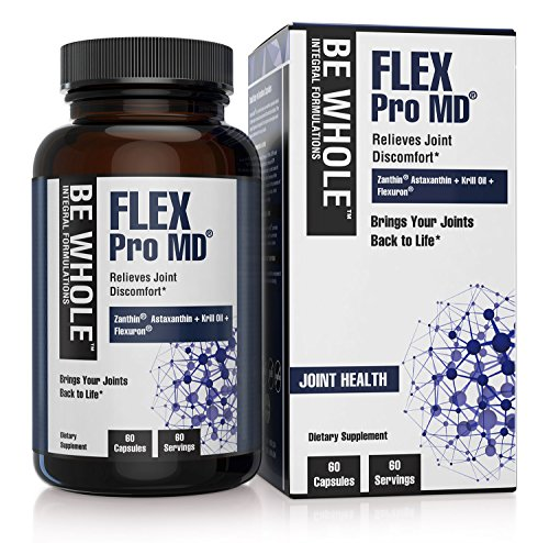Flex Pro MD: Joint Pain Relief Supplement - Patented and Clinically Tested Formulation - 60 Capsules by Be Whole