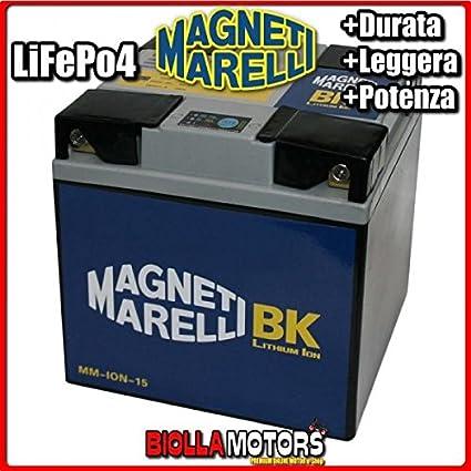 mm-ion-15 batería litio Magneti Marelli Y60-N24L-A LiFePO4 y60 ...