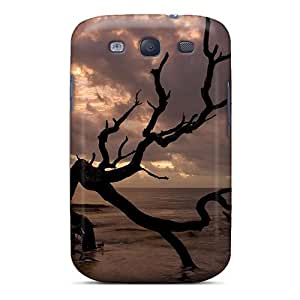 For NewArrivalcase Galaxy Protective Case, High Quality For Galaxy S3 Tree Shore Skin Case Cover
