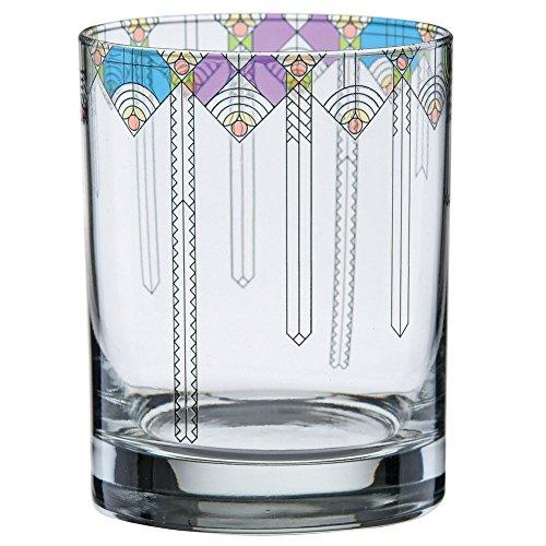 Frank Lloyd Wright April Showers Tumbler Glasses - 11 Ounce - Set of 2 ()