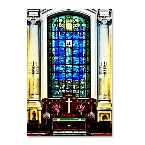 (CafePress - Naval Academy Chapel - Postcards (Package of 8), 6