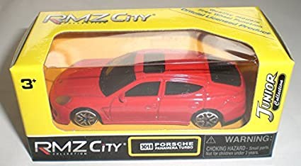 RMZ City 3018 PORSCHE PANAMERA TURBO Red minicar Porsche