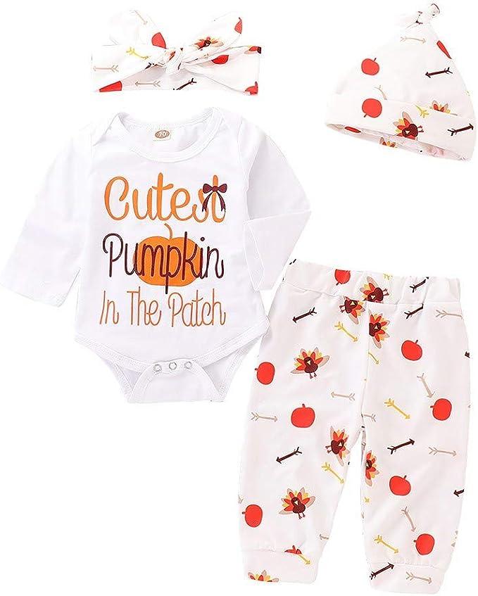 Wang-RX Ropa para bebés recién Nacidos Ropa de Halloween Carta ...