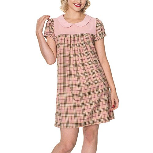 Banned Pink Days Girl by pink Town SMALL Dancing 5232 Kleid Dress Fw6Eagq
