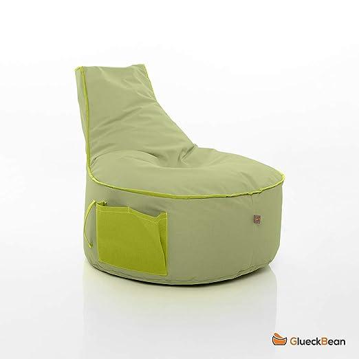GlueckBean BeanBag - Puf Colores a Elegir, para Interior y ...