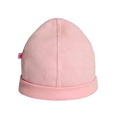 Summer Baby Hats/Caps Infant Dome Cotton Hats Pink